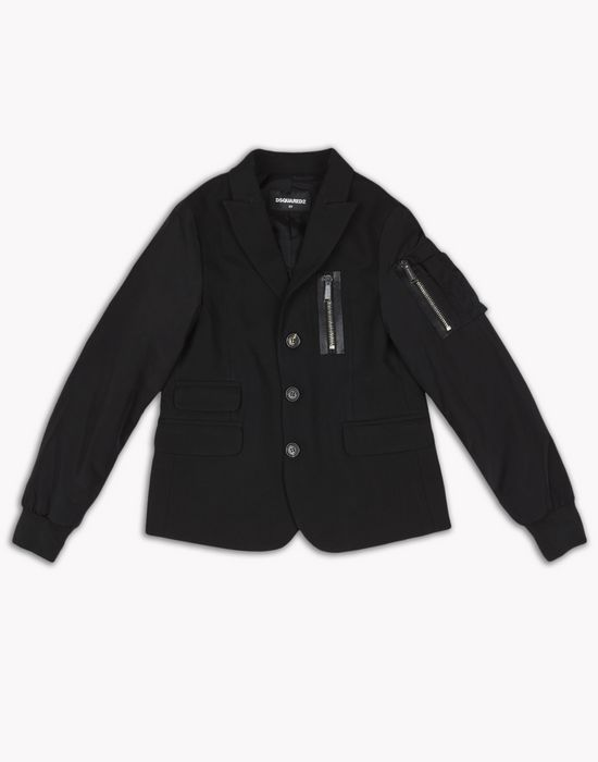 zipped blazer coats & jackets Man Dsquared2