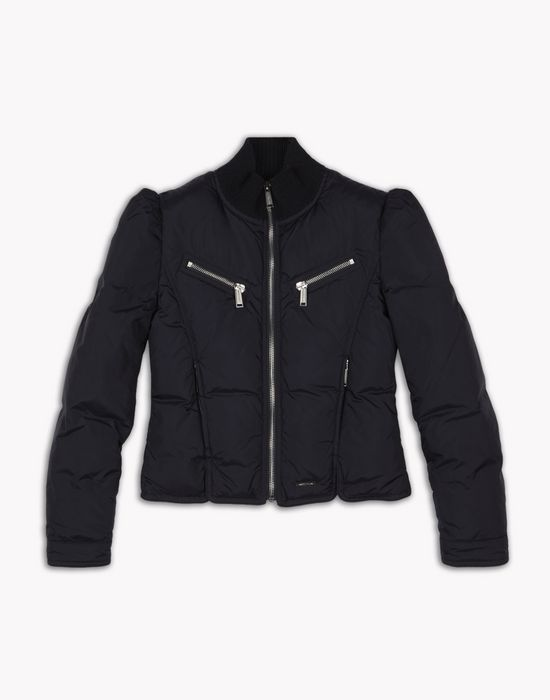 quilted jacket mäntel & jacken Damen Dsquared2