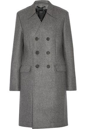조셉 JOSEPH Double-breasted boiled wool coat,Gray