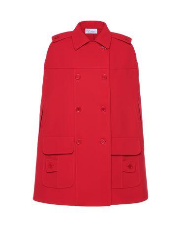 REDValentino PR3CG0501FR CC7 Cloak - Cape Woman a