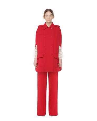 REDValentino PR3CG0501FR CC7 Cloak - Cape Woman f