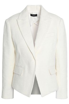 띠어리 Theory Brince Newdale Bonde textured cotton-blend blazer,Ivory