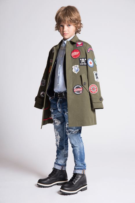 cotton patches jacket coats & jackets Man Dsquared2