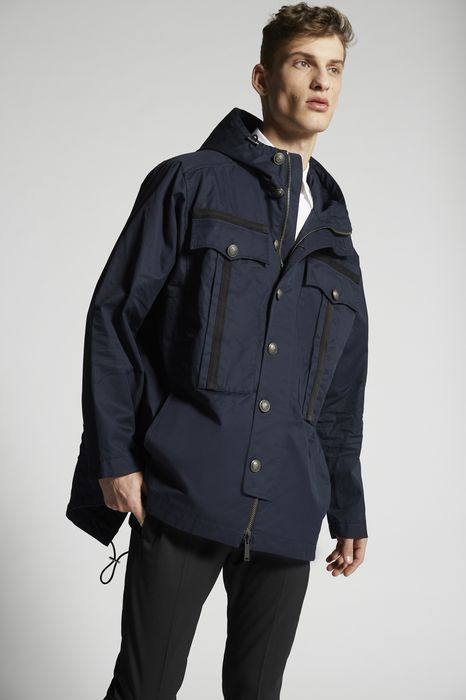 cotton twill sportsjacket coats & jackets Man Dsquared2