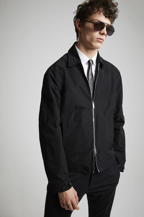 nylon taffeta manchester bomber jacket coats & jackets Man Dsquared2