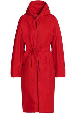 이자벨 마랑 Isabel Marant Etoile Twill hooded trench coat,Red