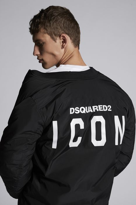 icon bomber jacket coats & jackets Man Dsquared2