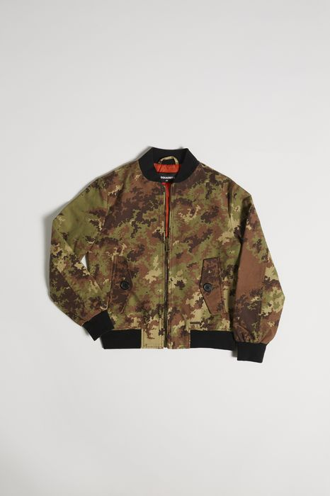 cotton bomber coats & jackets Man Dsquared2
