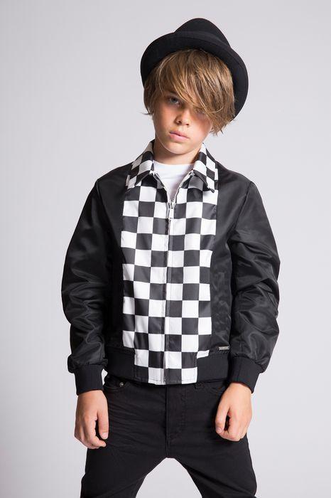 checked jacket coats & jackets Man Dsquared2
