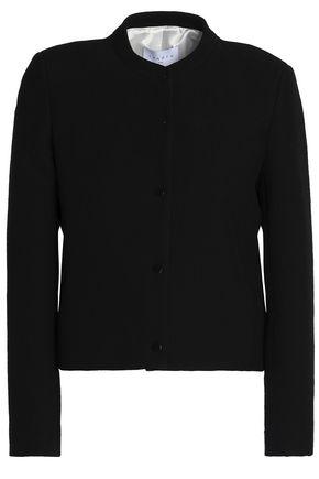 산드로 Sandro Crepe jacket,Black