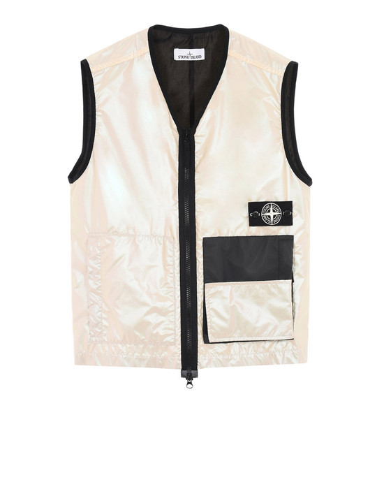 1a3deb8b Vest G07M1 IRIDESCENT COATING TELA WITH REFLEX MAT STONE ISLAND - 0