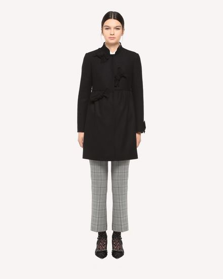REDValentino Coat Woman QR3CA1S00NA 0NO f