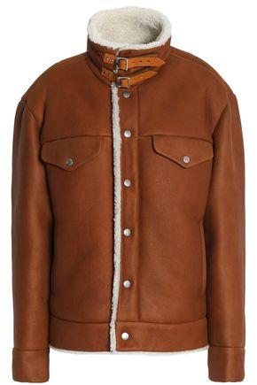 랙앤본 Rag & Bone Shearling jacket,Light brown