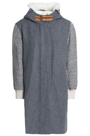 랙앤본 Rag & Bone Wool-blend hooded jacket,Gray