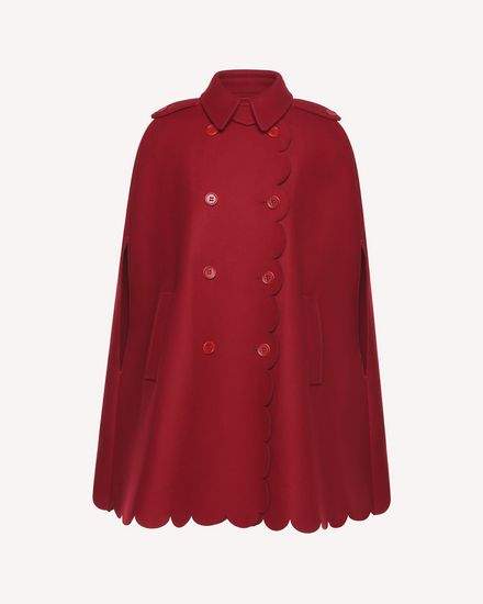 REDValentino Cloak - Cape Woman QR3CG0603SH C61 a