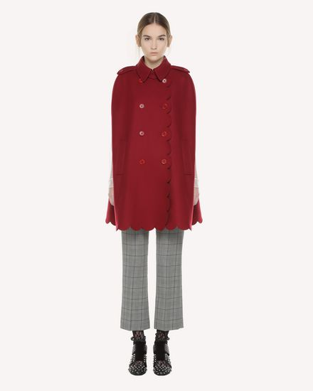REDValentino Cloak - Cape Woman QR3CG0603SH C61 f