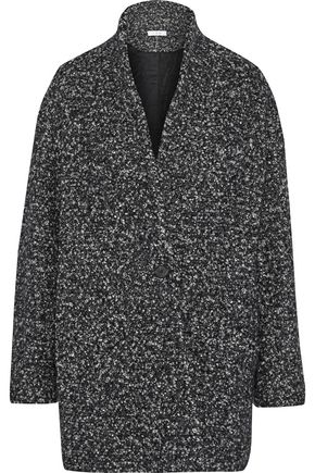 이로 IRO Boucle-tweed coat,Charcoal