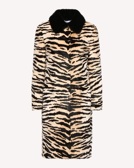 REDValentino COAT Woman QR3FA00L3VC 0NO a