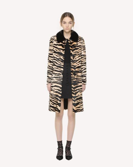 REDValentino COAT Woman QR3FA00L3VC 0NO f