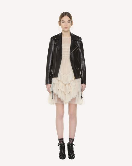 REDValentino Light jacket Woman QR3NA02V3V7 0NO f