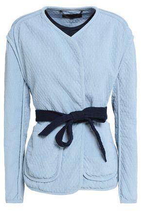 랙앤본 Rag & Bone Montana quilted cotton-chambray jacket,Light blue