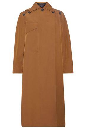 조셉 JOSEPH Button-detailed cotton-blend gabardine trench coat,Light brown