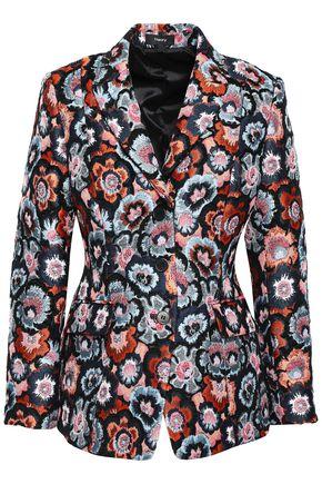 띠어리 블레이저 Theory Floral-jacquard blazer,Multicolor