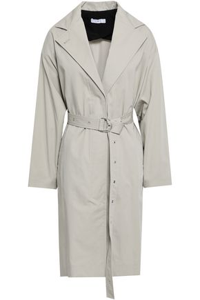 이로 IRO Mamos cotton-gabardine trench coat,Stone