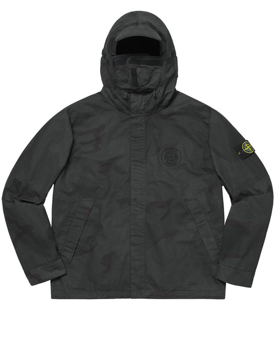 f90eb3622bbf 401S4 BRUSHED COTTON 2C CAMO OVD STONE ISLAND FOR SUPREME Jacket Stone  Island Men - Official Online Store