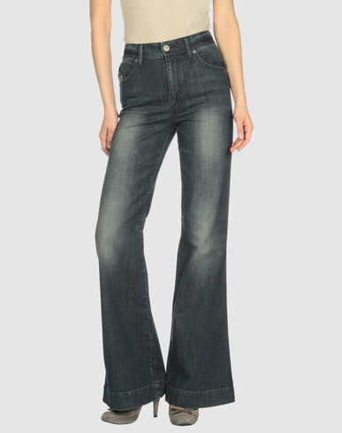 ARMANI JEANS High-Waist Wide Leg Denim :  pants jeans wide leg jeans wide leg denim