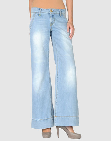 TWO WOMEN IN THE WORLD - Wide Leg Jeans :  pants jeans two women in the world wide leg denim