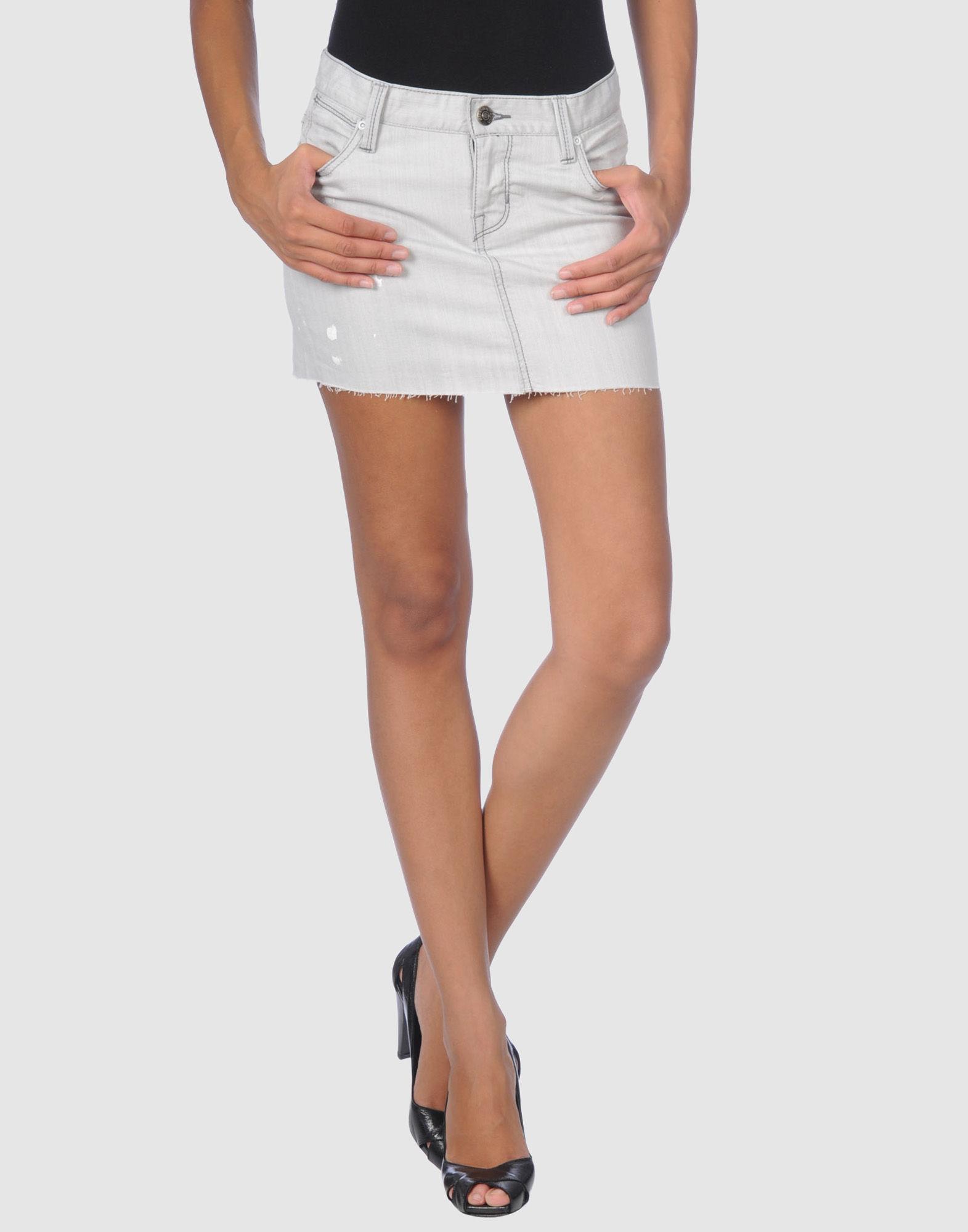 PAPERDENIM & CLOTH Denim skirts