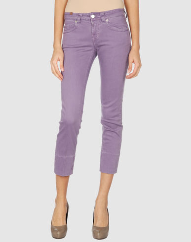 NOTIFY Women - Denim capris from yoox.com
