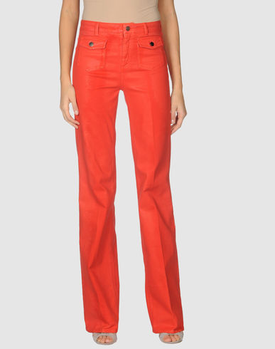 STELLA McCARTNEY - Wide Leg Jeans :  flare leg jeans jeans stella mccartney colorful jeans