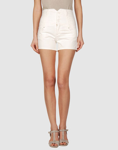 MISS SIXTY - Highwaist Denim shorts from yoox.com
