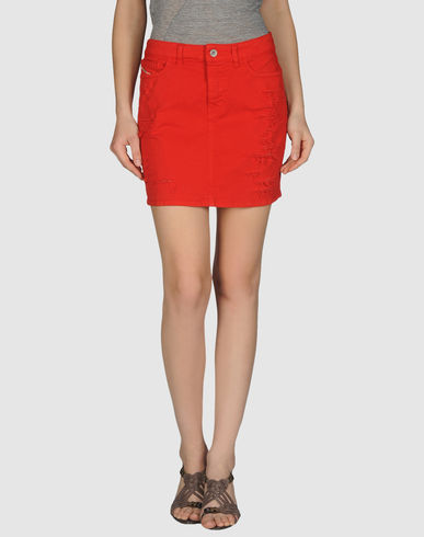 DIESEL Denim Mini SKirt from yoox.com