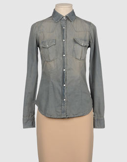 (#) 65 DENIM Denim shirts WOMEN on YOOX.COM