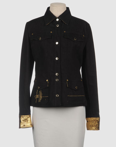 GIANFRANCO FERRE 39 Denim outerwearYOOX Collection FallWinter Product Info