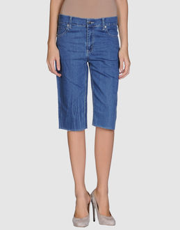 CHEAP MONDAY Denim bermudas - Item 42217602