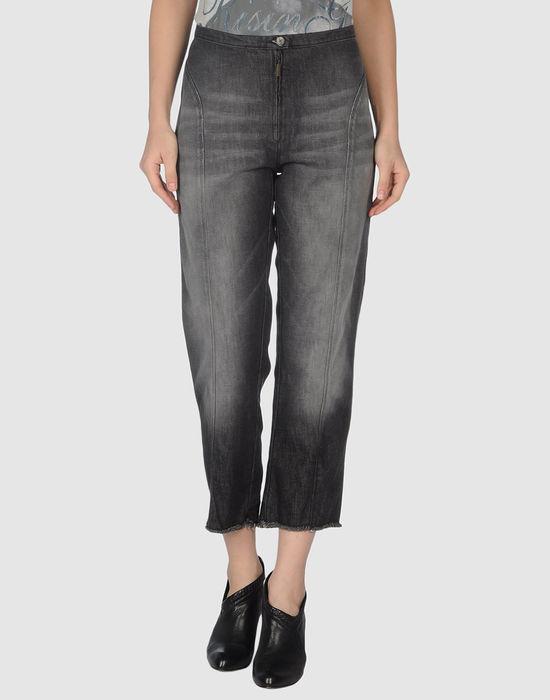 LAGERFELD GALLERY BY DIESEL Джинсовые брюки-капри