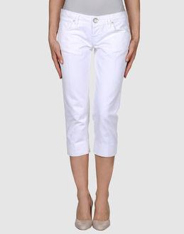 TWO WOMEN IN THE WORLD - ДЖИНСОВАЯ ОДЕЖДА - Джинсовые брюки-капри