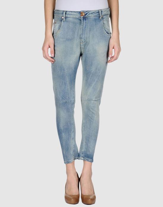 PLEIN SUD JEANIUS Джинсовые брюки