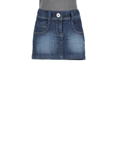 MIRTILLO - Denim skirt