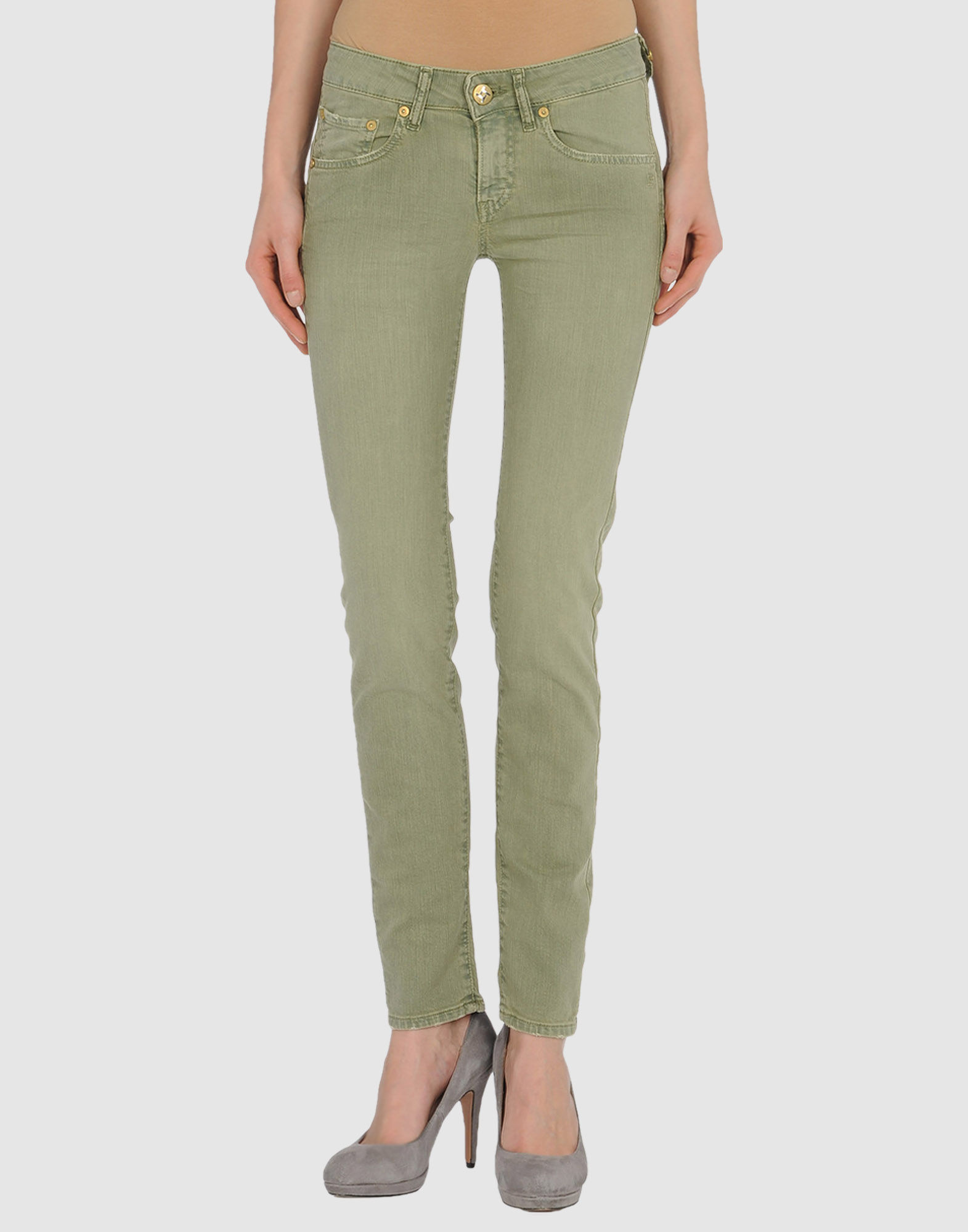 TAKE-TWO Denim pants - Item 42237375