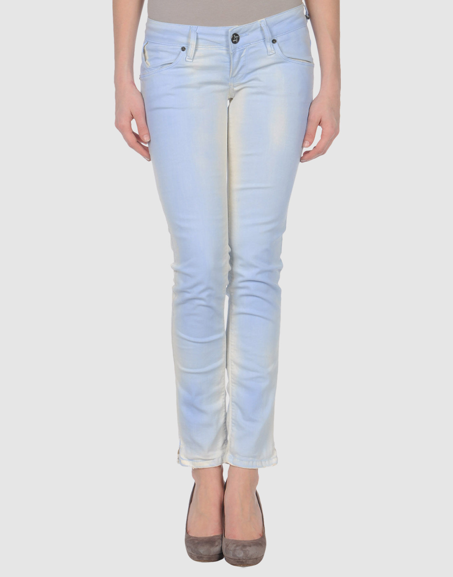 TAKE-TWO Denim pants - Item 42237378