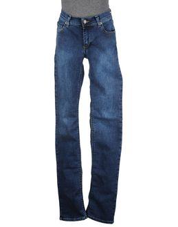 WASHED - ДЖИНСОВАЯ ОДЕЖДА - Джинсовые брюки