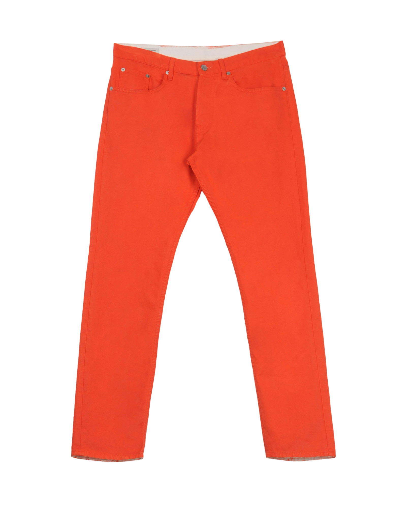 Dries Van Noten orange jeans