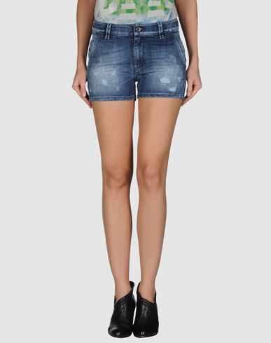 DIESEL BLACK GOLD - Denim shorts