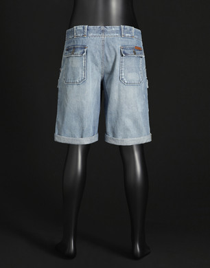 Cargo Shorts - Denim Bermudas - Dolce&Gabbana - Summer 2016