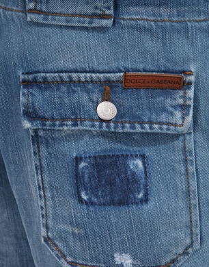 Bermuda cargo  - Bermuda Jeans - Dolce&Gabbana - Estate 2016